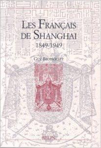 """""""Les Français de Shanghai"""" Book cover"""