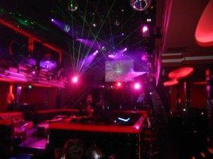Inside of modern Paramount Club