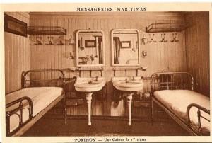 Porthos 1st class cabine