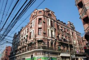 Queen Anne Style Building in Shanghai