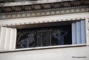 Art Deco ornament in London