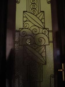 Leaf shaped door fens