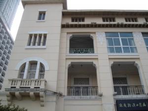 Art Nouveau facade in Hankou