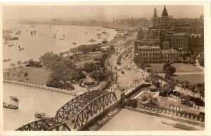 Bund from Broadway Mansion 1935