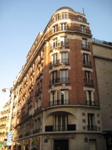 Art deco Building in St Germain