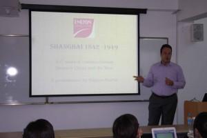 Live presentation for EM Lyon business school