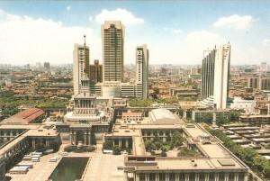 Shanghai Center 1990