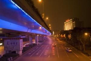 Blue Yanan Road
