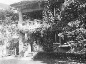 The Lubeck house in the 1930's