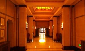 Original hotel entrance