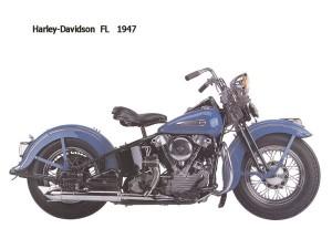 Harley Davidson FL 1947