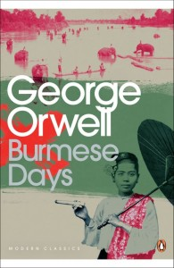 Book Cover, Burmese days, Penguin