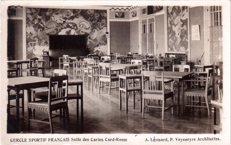 Cercle Sportif Francais, cardroom