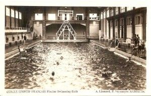 Pool of the former Cercle Sportif Francais