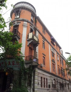 Building on Poyang Jie, Wuhan
