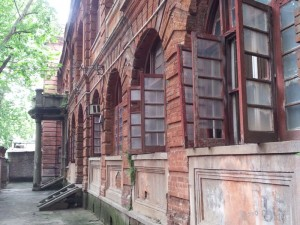 Building in the former Hankou German Concession