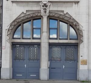 Art Deco door, Antwerp