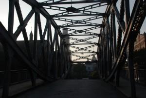 Shanghai other iron bridge