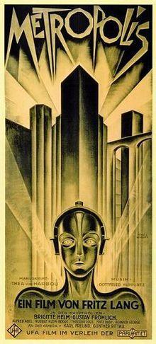 METROPOLIS original poster