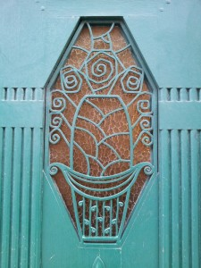 Art Deco door in Dijon