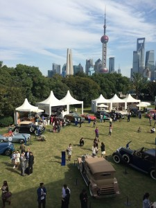 1920's Packard on the Bund