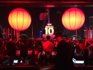 Bar Rouge 10th birthday