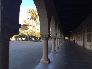 Stanford main corridors