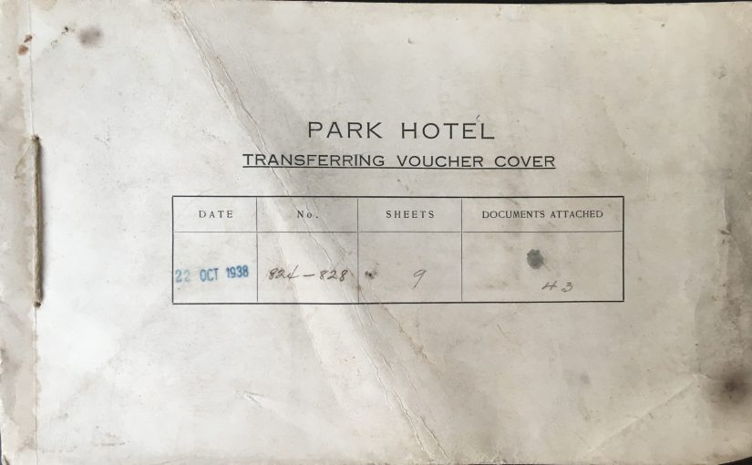 Park Hotel accounting